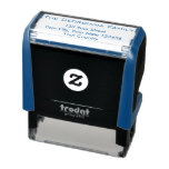 [ Thumbnail: Family Name + Address Self-Inking Stamp ]