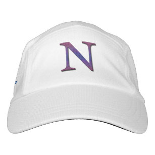 81cb4afe3ff Family Name Letter N Initial Monogram Reunion Hat