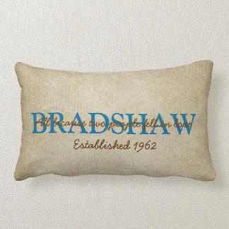 Family Name Pillows