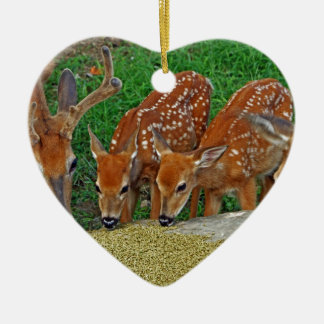 Family Night Out Ceramic Ornament