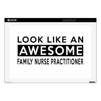 "FAMILY NURSE PRACTITIONER DESIGNS 17"" LAPTOP DECAL"