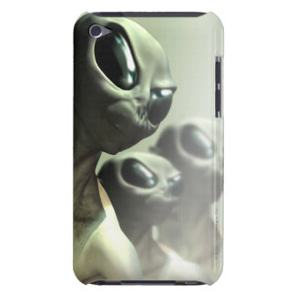 Family of aliens huddled together. barely there iPod cover