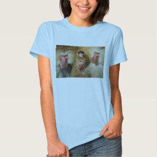 Family of Baboons Papio Hamadryas Cologne Zoo T Shirt