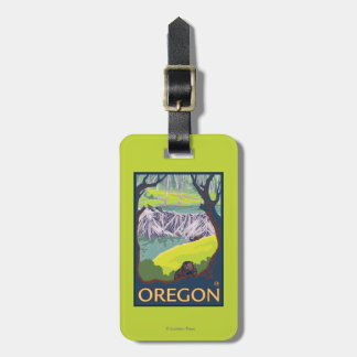 Family of Beavers Luggage Tag