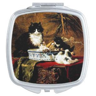 Family of Cats, Henriëtte Ronner-Knip Makeup Mirror