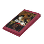 Family of Cats, Henriëtte Ronner-Knip Trifold Wallet