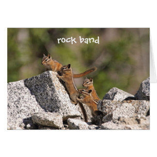 Family of Chipmunks Card
