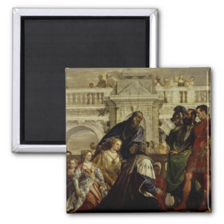 Family of Darius before Alexander the Great 2 2 Inch Square Magnet