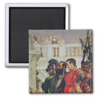 Family of Darius before Alexander the Great 2 Inch Square Magnet
