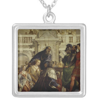 Family of Darius before Alexander the Great 2 Silver Plated Necklace
