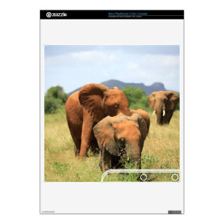 Family of elephants skins for the PS3 slim