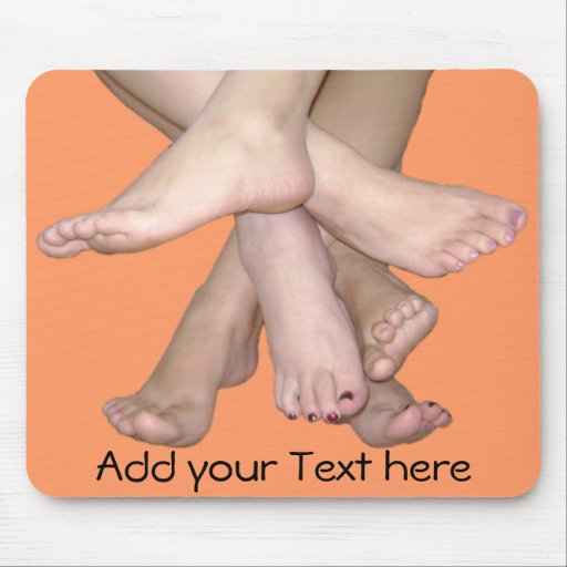 Family of Feet Mouse Pad