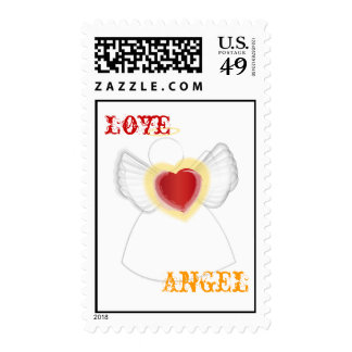 Family of Loving Angels-Customize Postage