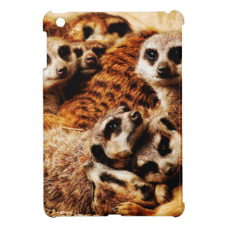 Family of Meerkats iPad Mini Cover