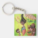 Family of Mermaids Acrylic Keychain