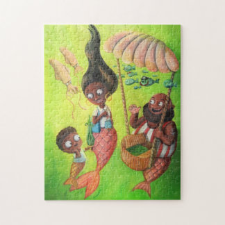 Family of Mermaids Jigsaw Puzzle