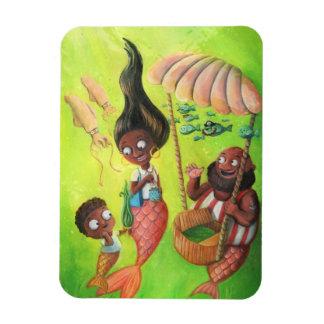 Family of Mermaids Magnet