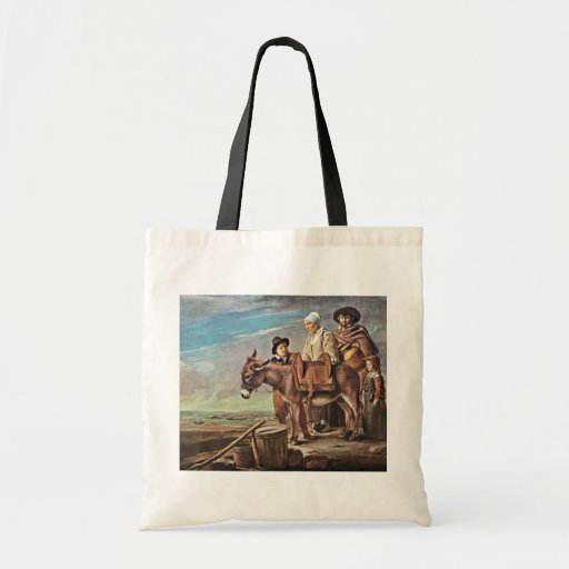 Family Of Milk Seller By Le Nain Louis (Best Quali Tote Bag