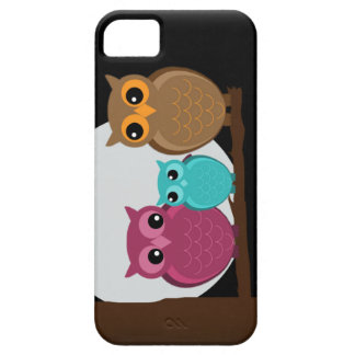 Family of Owls iPhone 5 Case