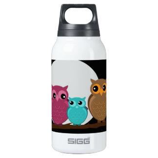 Family of Owls Thermos Bottle