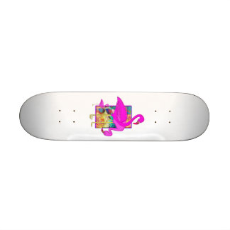 Family of Pink Flamingos Skate Boards