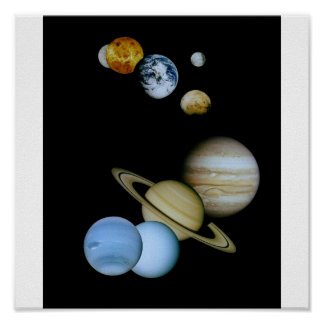 Family of Planets Poster
