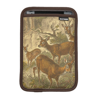 Family of Roe - Deers in a Forest iPad Mini Sleeve