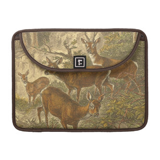 Family of Roe - Deers in a Forest MacBook Pro Sleeve