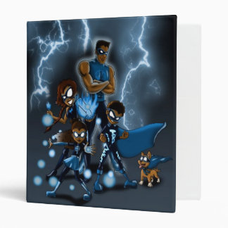 Family of Super Heroes 3 Ring Binder