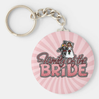 family of the bride keychain