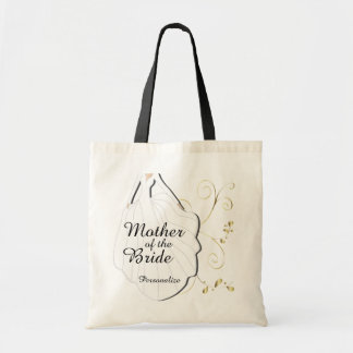 Family of the Bride Wedding Party Budget Tote Bag