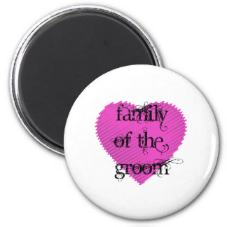 Family of the Groom Refrigerator Magnets