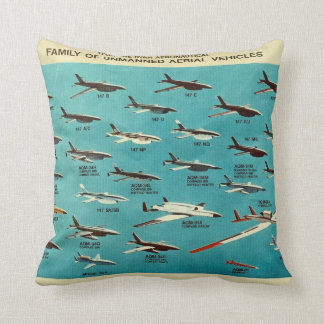 Family of unmanned aerial vehicles pillows