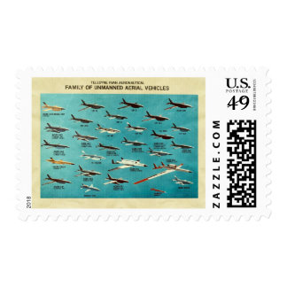 Family of unmanned aerial vehicles postage