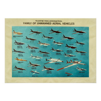 Family of unmanned aerial vehicles poster