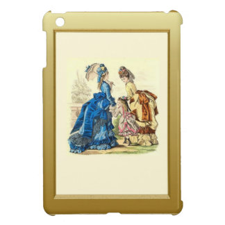 Family on the terrace case for the iPad mini