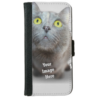 Family Pet Image Template Wallet Phone Case For iPhone 6/6s