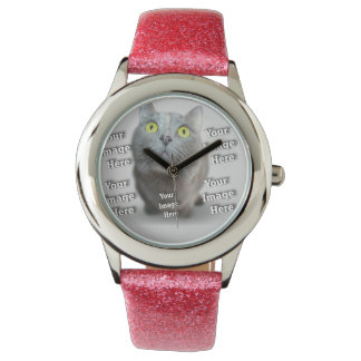 Family Pet Template Wristwatch