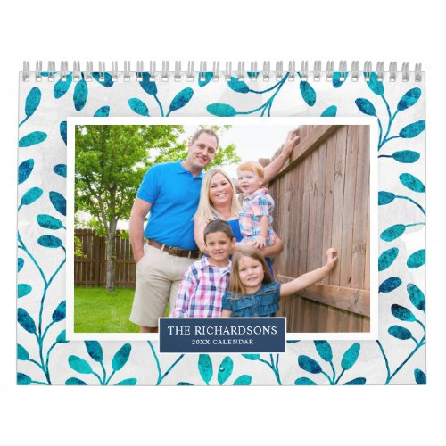 Family Photo 2020 Calendar Seasonal Backgrounds