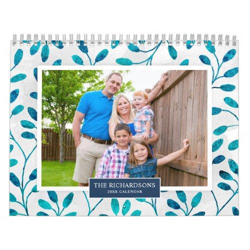 Family Photo 2021 Calendar Seasonal Backgrounds