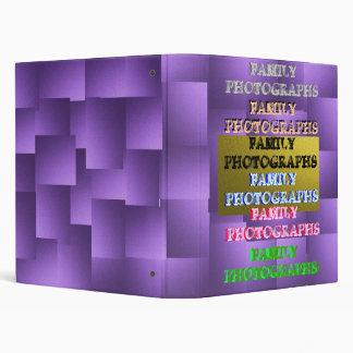 Family Photo Album 3 Ring Binders