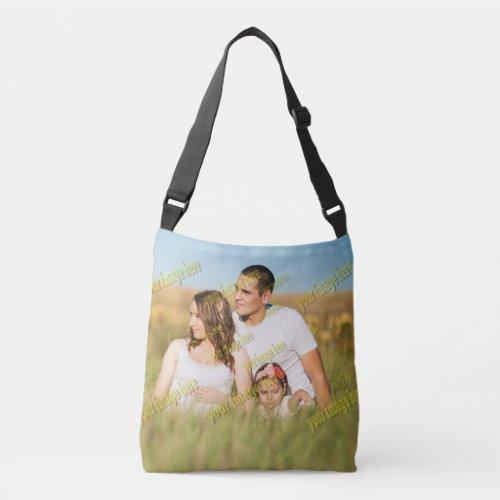 Family Photo Budget Crossbody Bag
