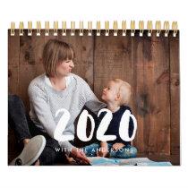 Family photo calendar 2020