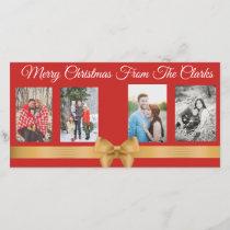 Family Photo Card For Christmas