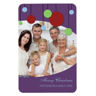 Family Photo Christmas Magnet Modern Decorations