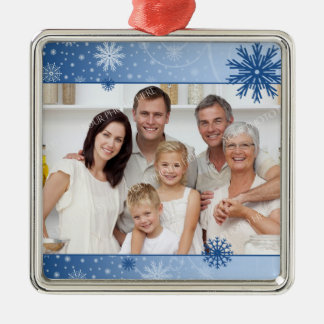 Family Photo Christmas Ornament
