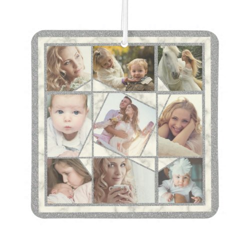 Family Photo Collage 18 Instagram Pictures Marble Air Freshener