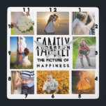 """Family Photo Collage Add Name Template 