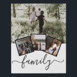 "Family Photo Collage Custom Personalized Faux Canvas Print<br><div class=""desc"">Family Photo Collage Custom Personalized created by you personalized wall art - Faux Wrapped Canvas Print from Ricaso</div>"
