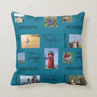 Family Photo Collage Pillows